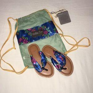 Matilda Jane Girls Sandals, Size 11, NWT